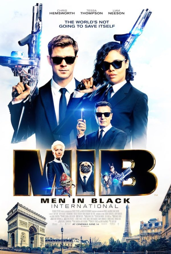 Men in Black: International gets a new trailer and poster