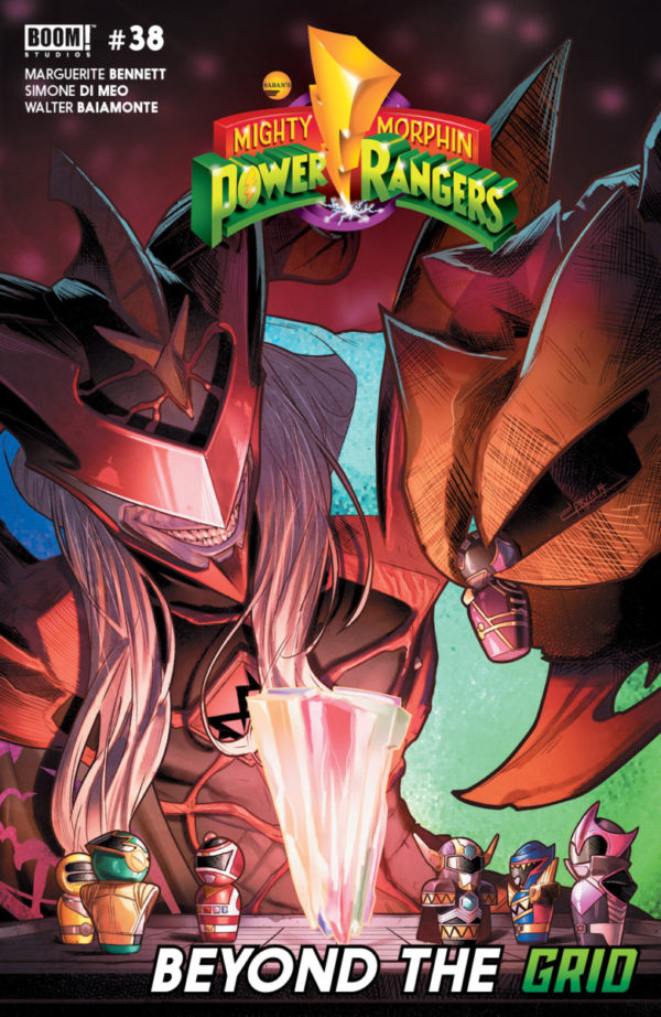 Comic Book Preview – Mighty Morphin Power Rangers #38