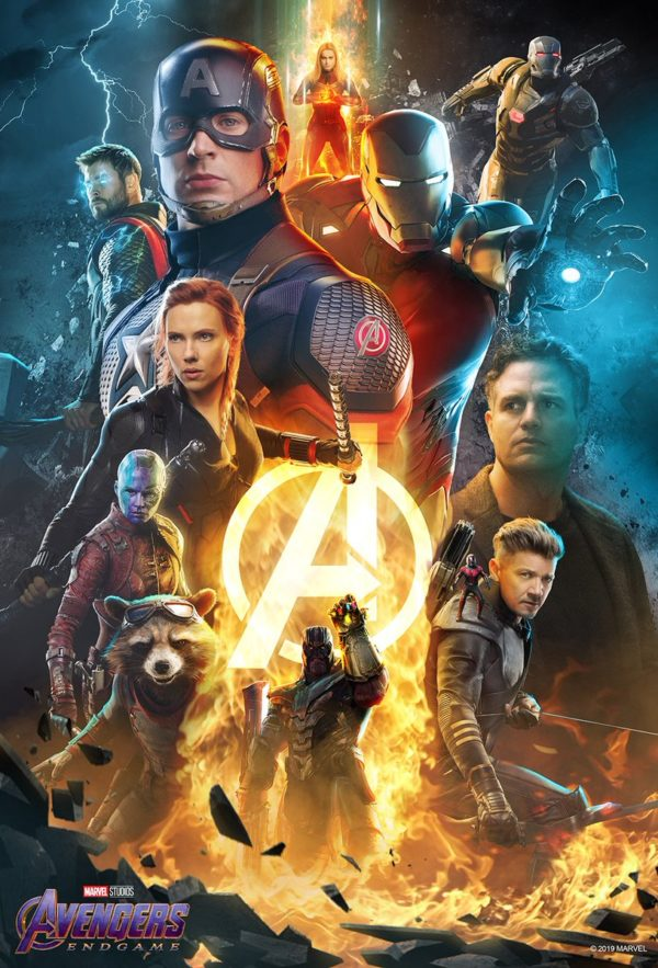 Avengers Endgame Official Poster Hd