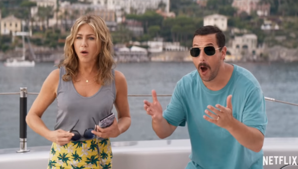 Jennifer Aniston and Adam Sandler get caught up in a Murder Mystery in trailer for new Netflix comedy