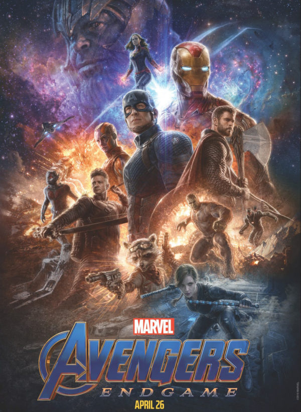 New Promotional Artwork For Avengers Endgame Released