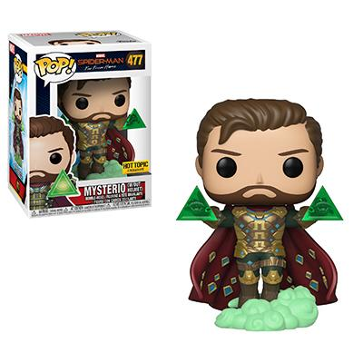 Funko's Spider-Man: Far From Home Mysterio and the Elementals Pop! Vinyl figures revealed