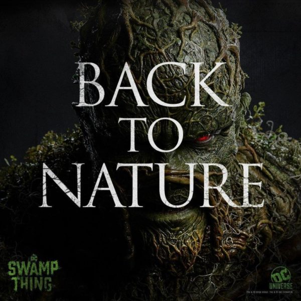 Swamp Thing TV series gets three teaser posters