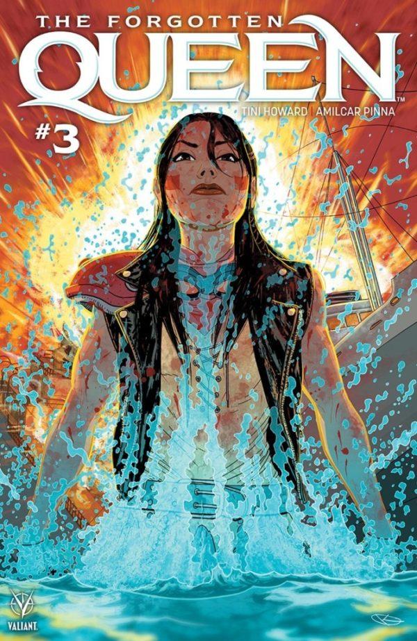 Comic Book Review – The Forgotten Queen #3