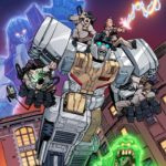 IDW unveils first look preview of Transformers/Ghostbusters #1