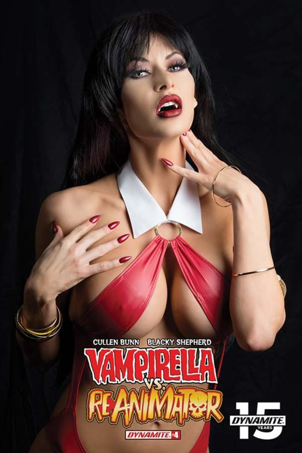 Comic Book Preview – Vampirella vs Reanimator #4