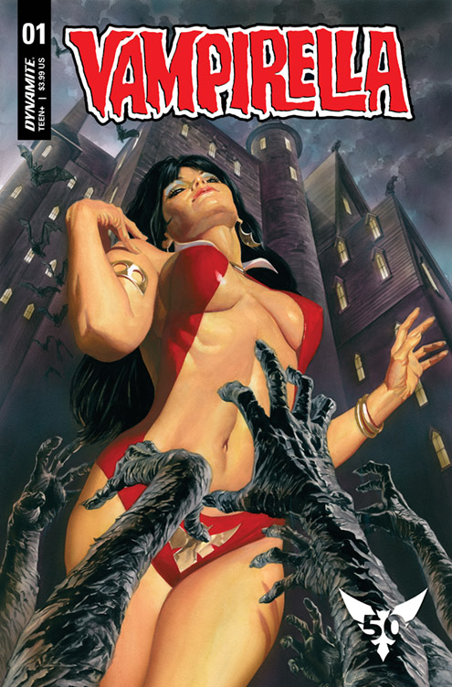 Dynamite celebrates Vampirella's 50th anniversary with new series