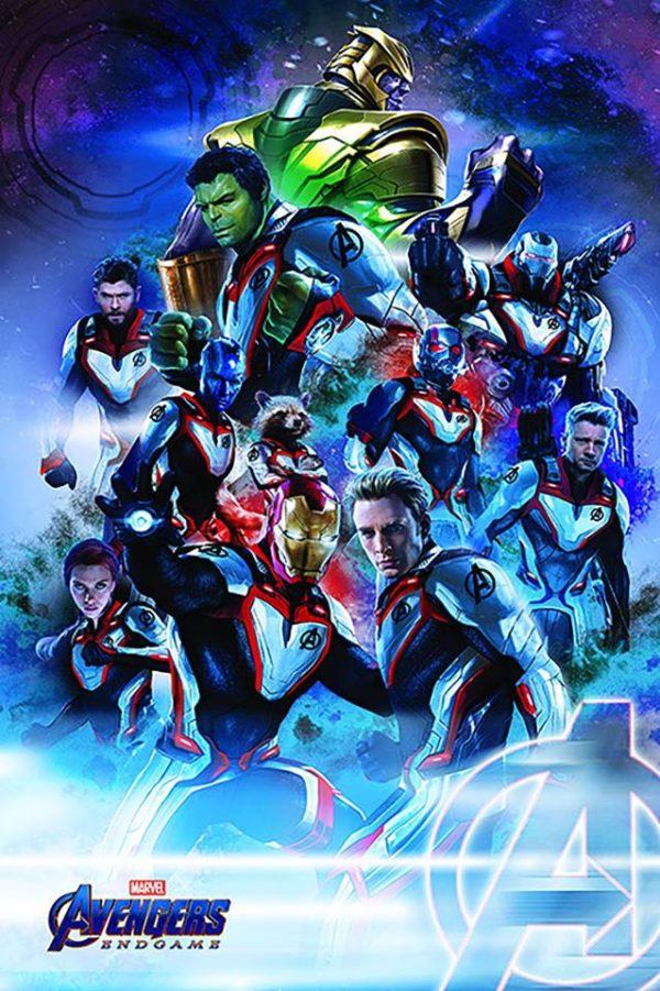 Avengers Endgame Promo Poster Showcases The Quantum Realm Suits