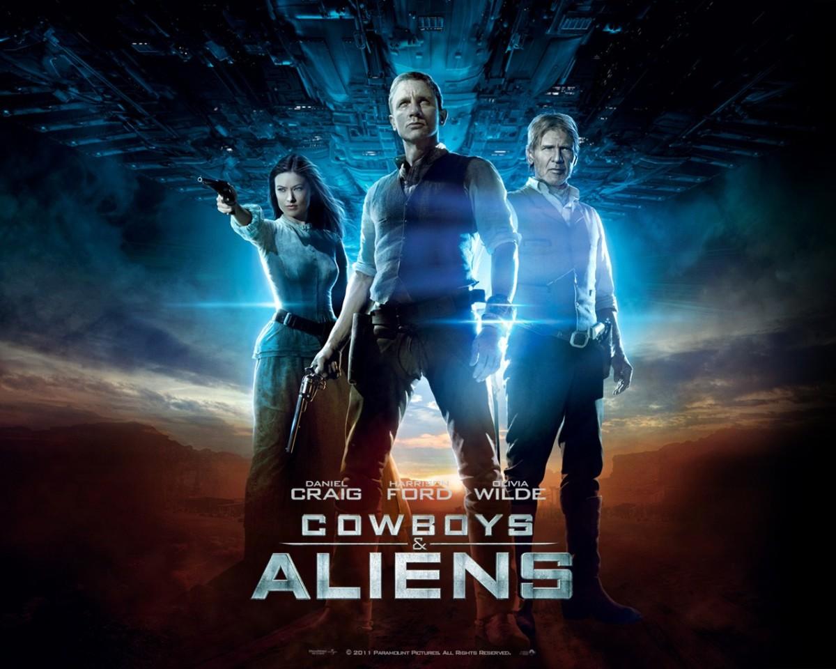 The Four-Color Film Podcast #122 - Cowboys & Aliens