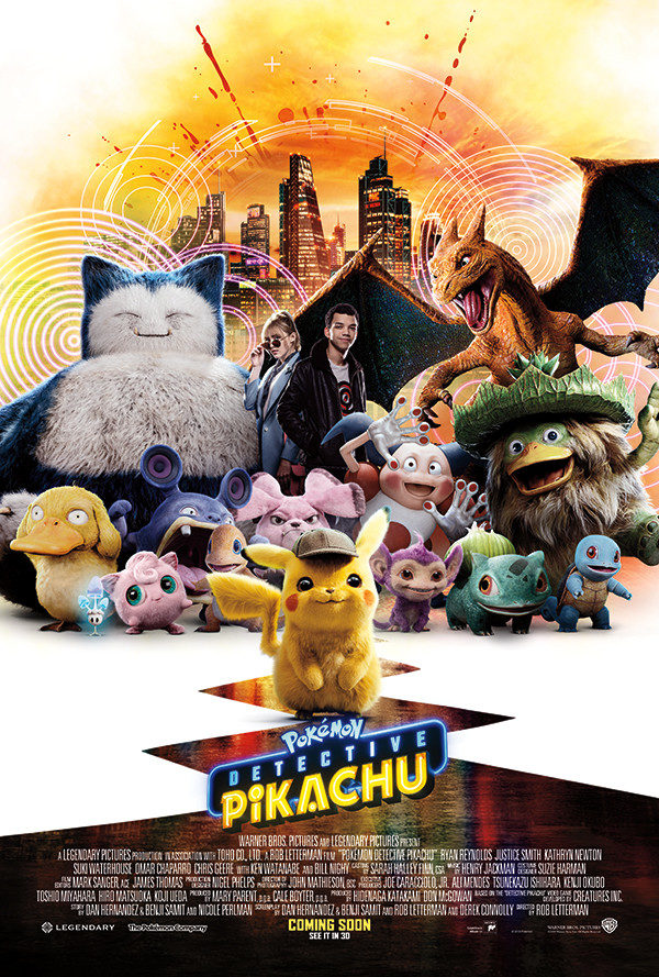 Movie Review Pokemon Detective Pikachu 2019