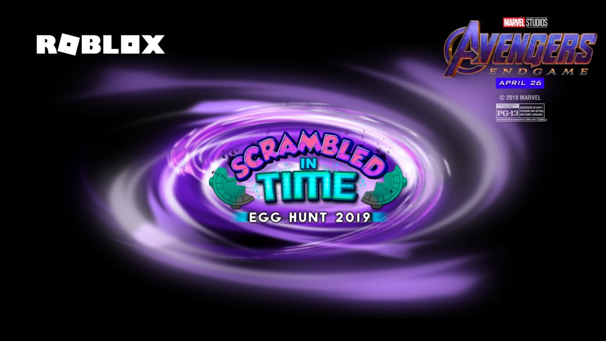 Egg Hunt 2019 Roblox Trailer Roblox Celebrates Easter With An Avengers Endgame Easter Egg Hunt