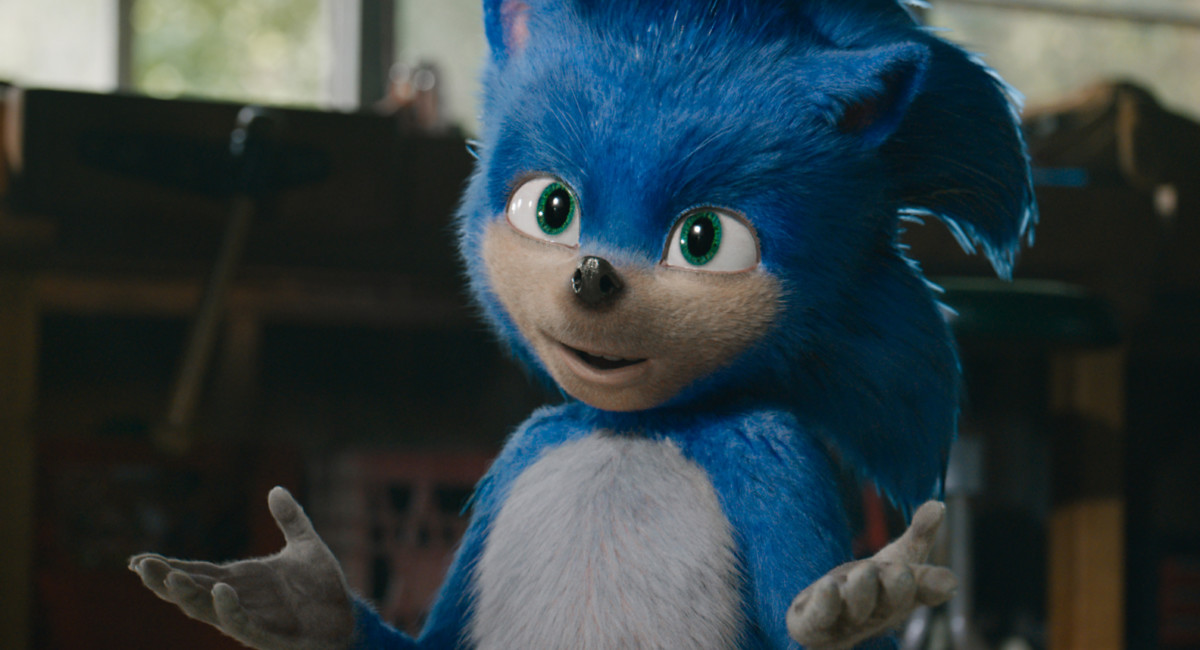 sonic the hedgehog movie gets a first trailer and posters