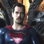 Here's Henry Cavill's Superman with his Mission: Impossible moustache in Justice League
