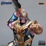 Iron Studios unveils its Avengers: Endgame Thanos Battle Diorama Series statue
