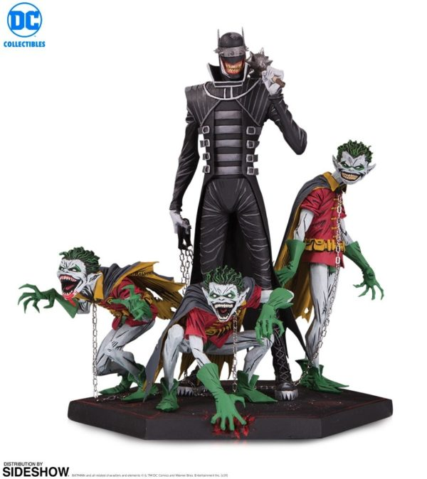 The Batman Who Laughs & Robin Minions Dark Knights: Metal statue unveiled by DC Collectibles