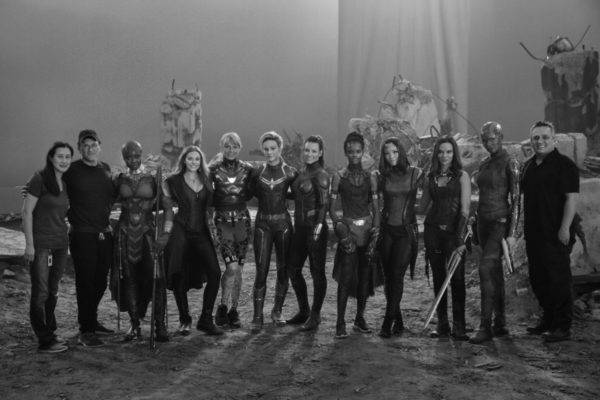 Marvel's female heroes assemble for Avengers: Endgame behind-the-scenes image
