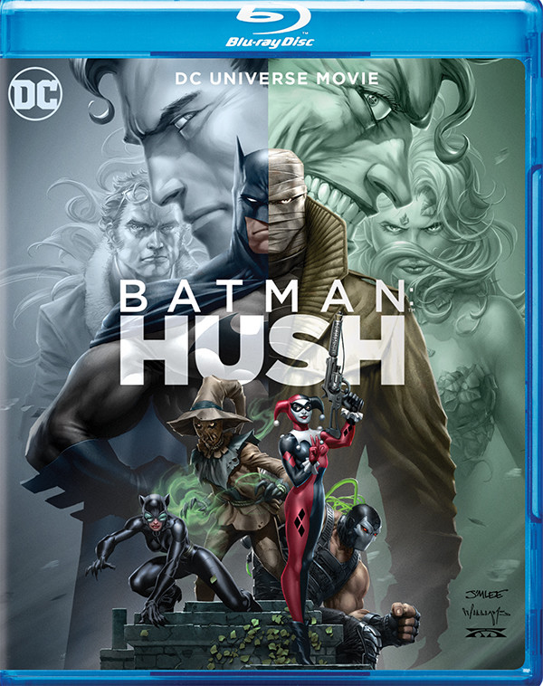 Batman: Hush cover art and special features revealed