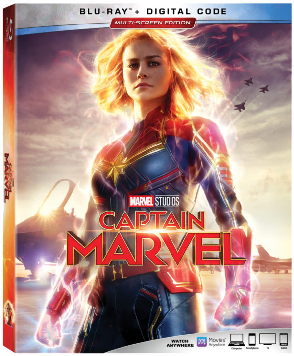 Blu-ray Review – Captain Marvel (2019)