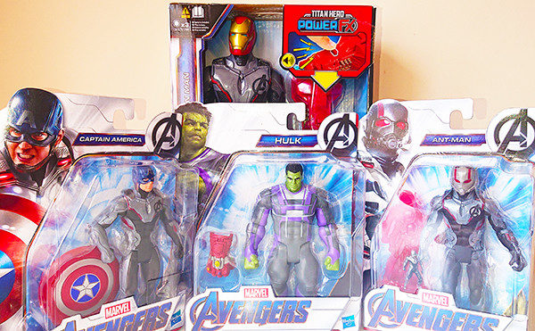Hasbro releases new wave of Avengers: Endgame action figures
