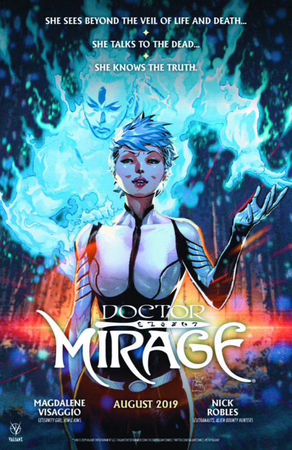 Valiant unveils first-look preview of new Doctor Mirage series