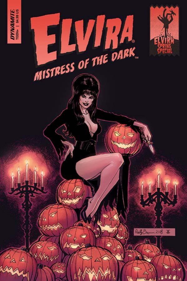 Comic Book Preview – Elvira: Mistress of the Dark Spring Special