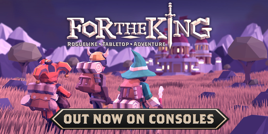 Strategy RPG For The King arrives on PS4 and other consoles this week