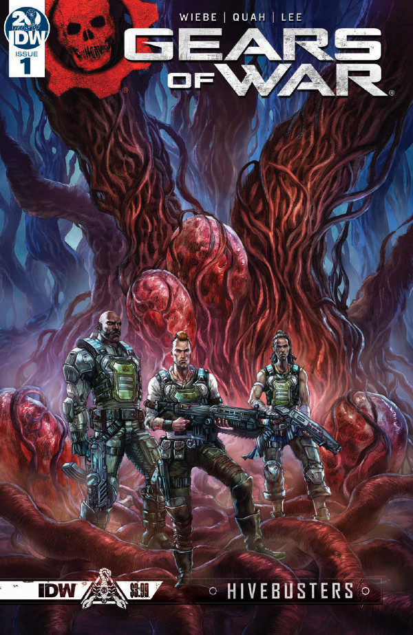 Comic Book Preview – Gears of War: Hivebusters #1