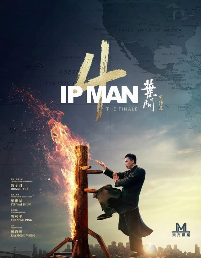 Donnie Yen returns on new poster for Ip Man 4
