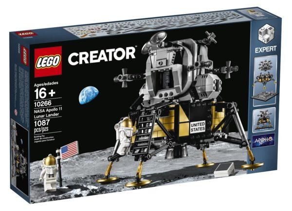LEGO unveils NASA Apollo 11 Lunar Lander and new LEGO City Space