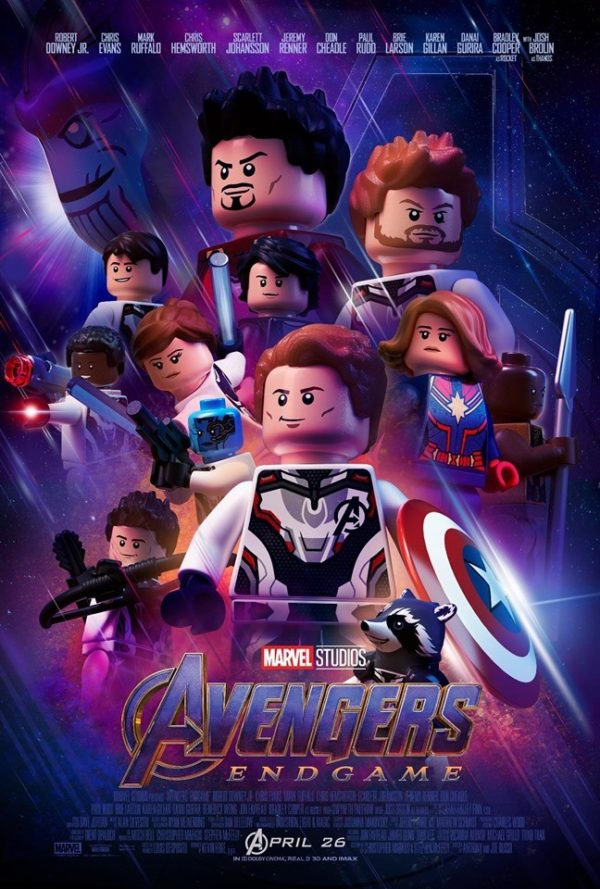Marvel S Avengers Endgame Theatrical Poster Gets A Lego