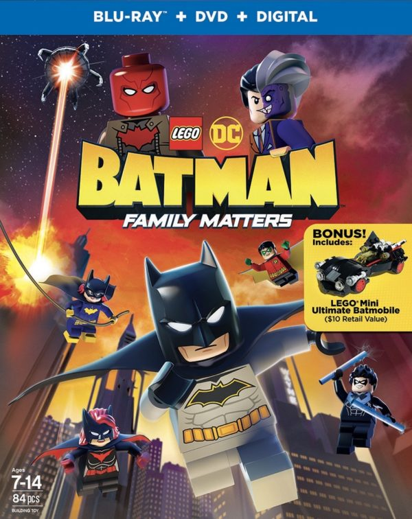 Trailer for LEGO DC: Batman – Family Matters animated movie