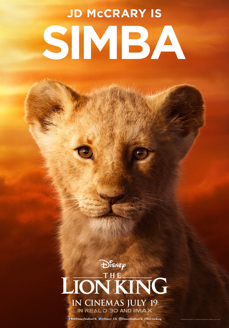 Disney's The Lion King gets nine character posters