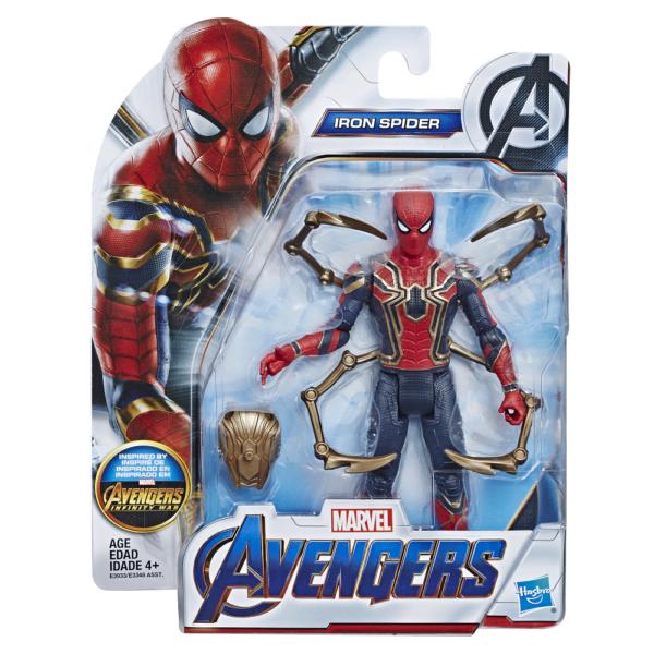 MARVEL-AVENGERS-ENDGAME-6-INCH-Figure-Assortment-Iron-Spider-in-pck-600x600