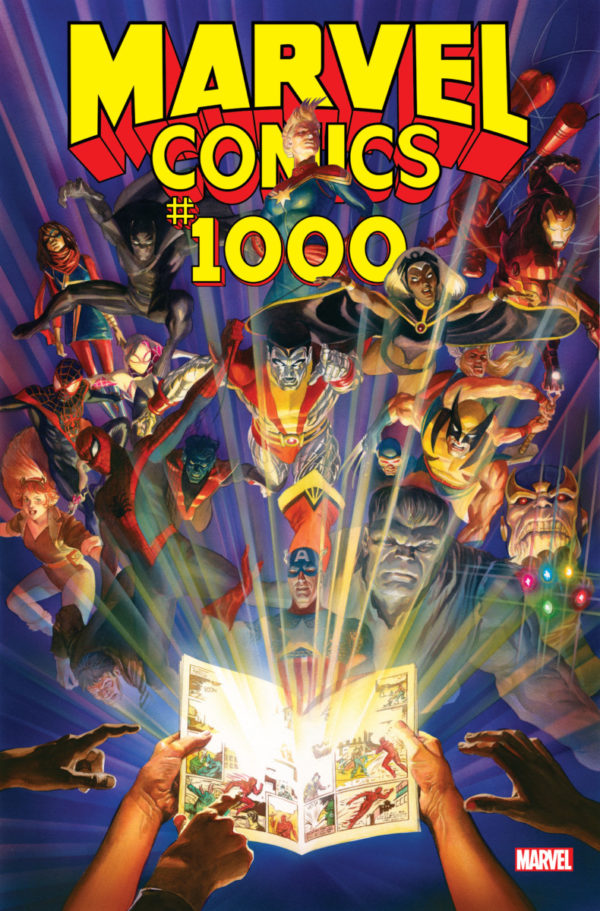 Marvel to celebrate 80 years with Marvel Comics #1000 oversized one-shot