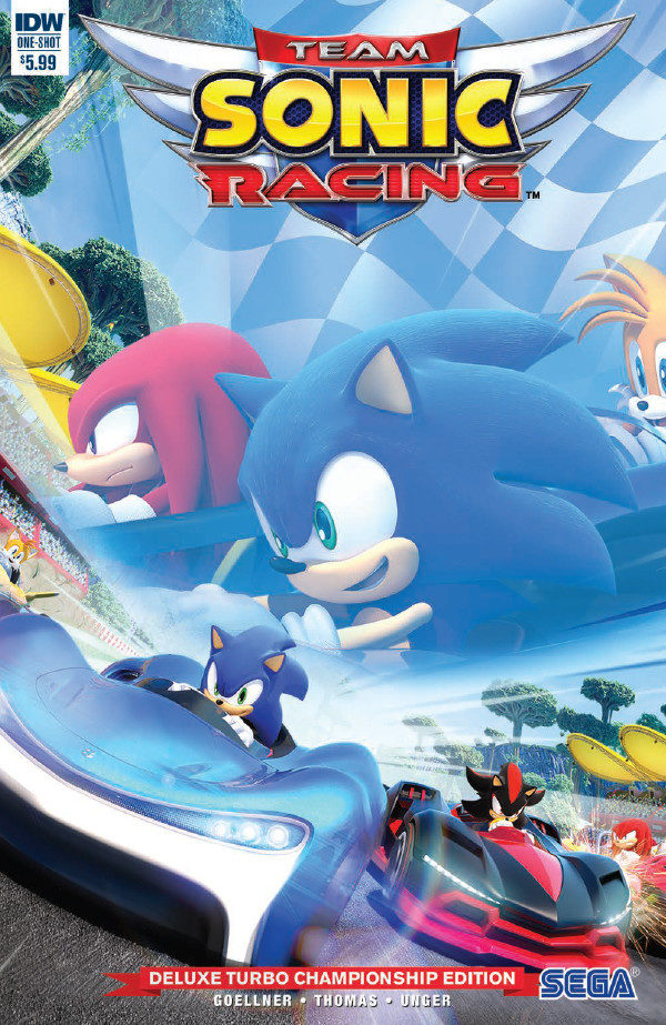 Comic Book Preview – Team Sonic Racing Plus Deluxe Turbo Championship Edition