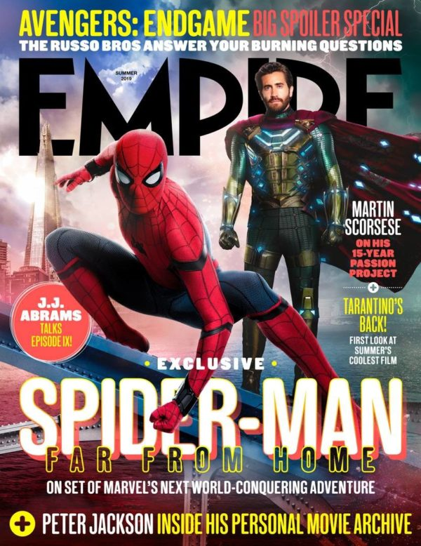 Spider-Man-Far-From-Home-empire-summer-2019-newsstand-cover-600x778