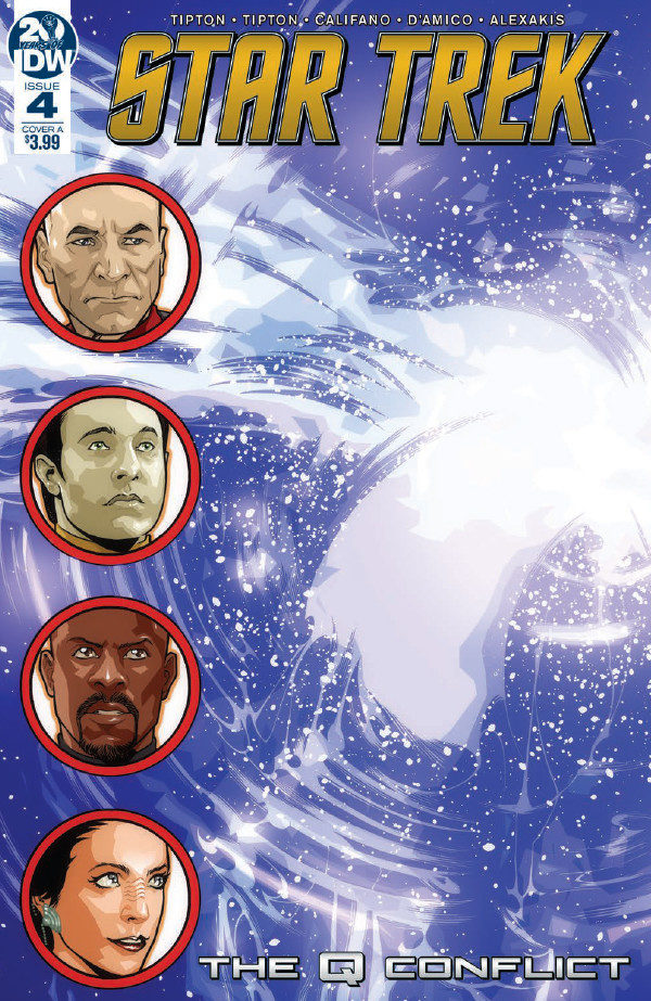 Comic Book Preview – Star Trek: The Q Conflict #4