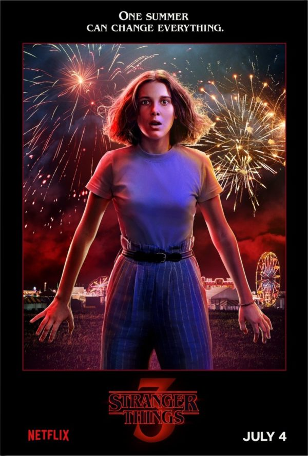 Stranger Things season 3 character posters and clip celebrate summer in Hawkins