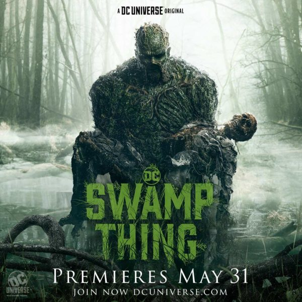 DC Universe's Swamp Thing gets a new trailer and poster