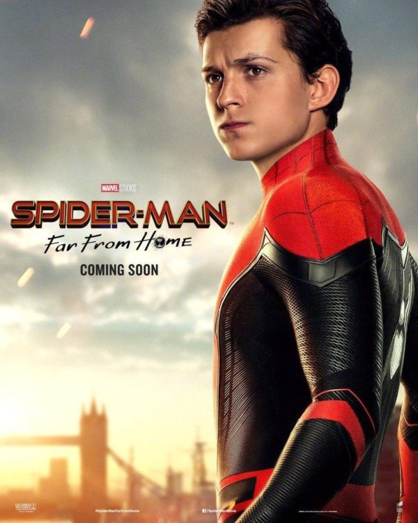 Spider-Man: Far From Home gets four character posters