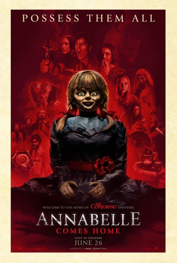 Movie Review – Annabelle Comes Home (2019)