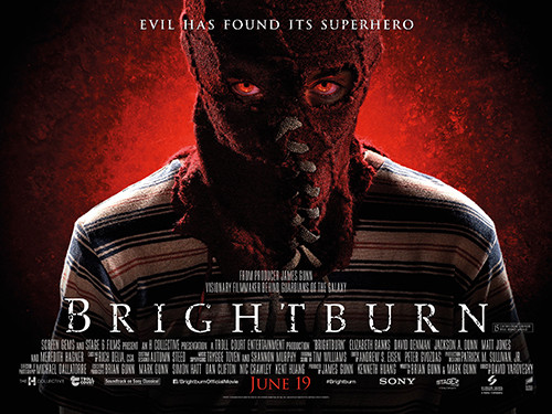 New UK poster for superhero horror Brightburn