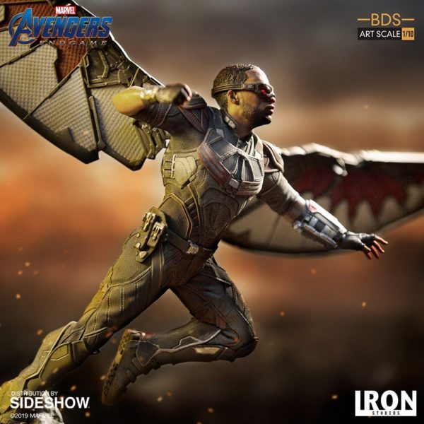 Iron Studios adds Falcon to its Avengers: Endgame Battle Diorama collection