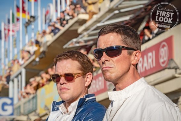 Matt Damon and Christian Bale in first-look images from Ford v Ferrari