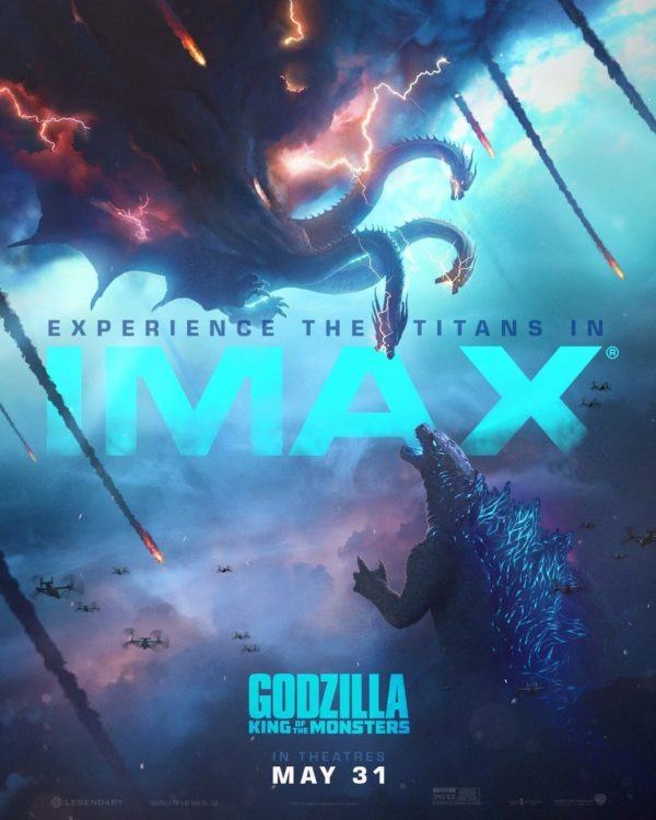 Godzilla: King Of The Monsters Gets Two New Posters