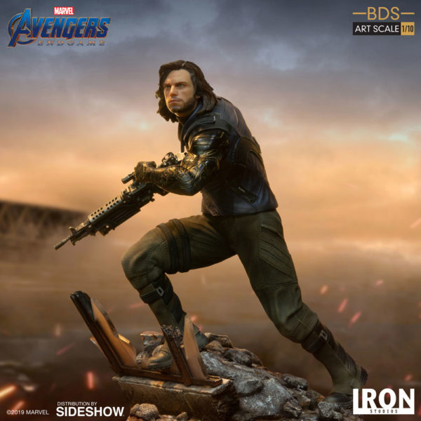 The Winter Soldier joins Iron Studios' Avengers: Endgame Battle Diorama Series