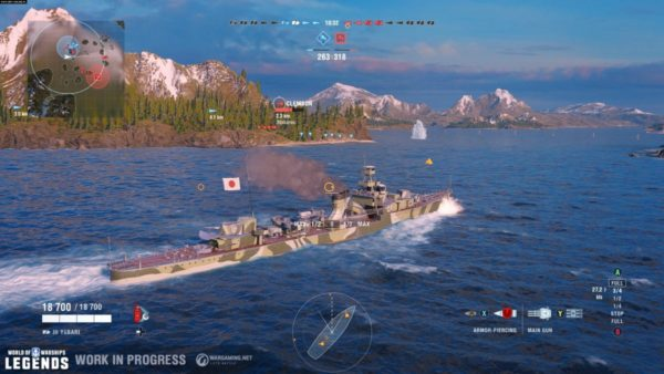 Video Game Review - World of Warships: Legends