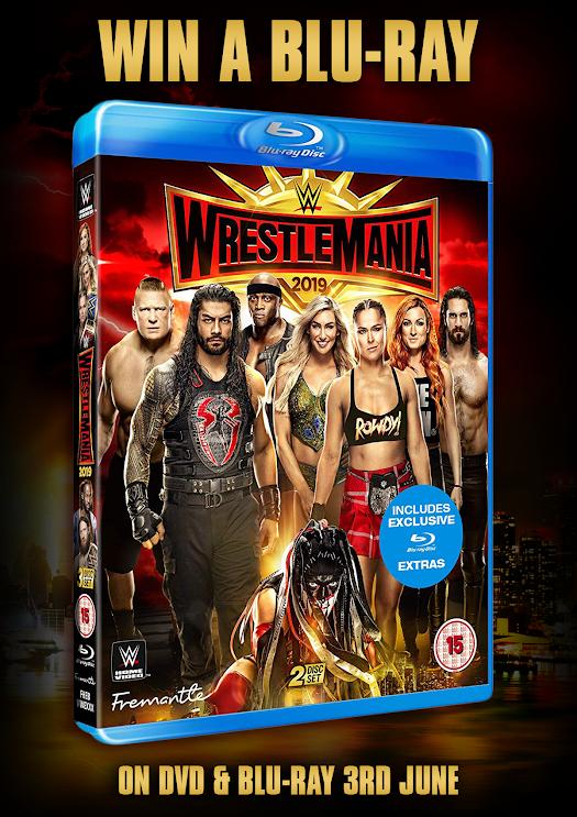 Giveaway – Win WWE WrestleMania 35 on Blu-ray