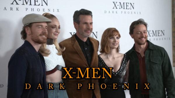 Watch highlights from the X-Men: Dark Phoenix UK fan event