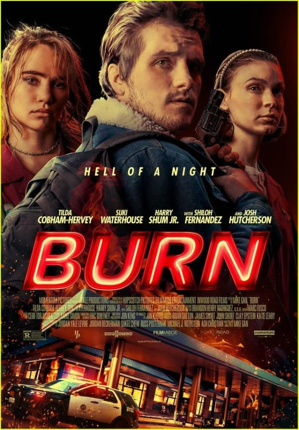 Josh Hutcherson and Suki Waterhouse star in trailer for Burn